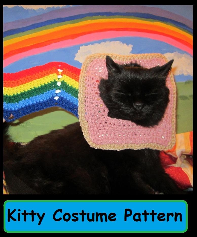 Nyan Cat Amigurumi Free Pattern : Free Nyan Cat Costume Crochet Pattern craftyghoul