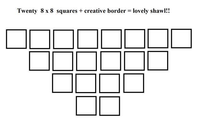 Square Shawl Blog