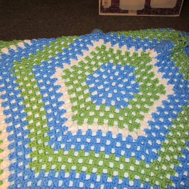 Hexagon blanket