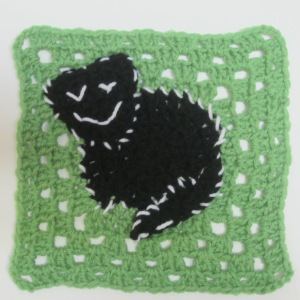 Kitty Cat Square Crochet Pattern