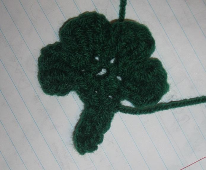 Free Four Leaf Clover Crochet Pattern Craftyghoul