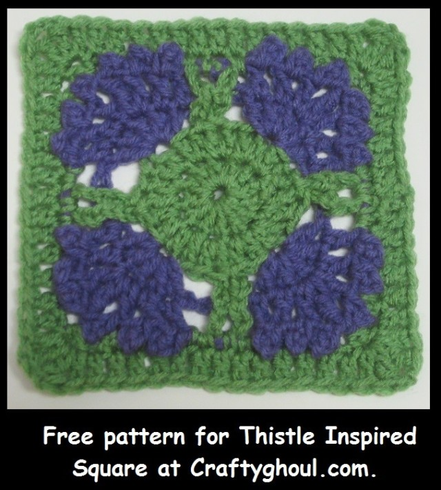 Thistle Inspired Square One