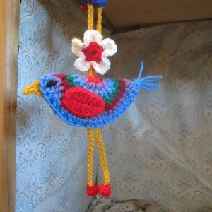 Circle Bird Crochet Pattern