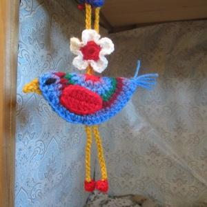 Circle Bird Crochet Pattern