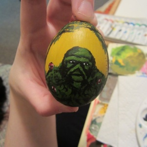 Swamp Thing Fabrege Egg