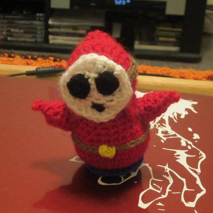 My Shy Guy variation of a Creepy Cute Crochet Figure!   craftyghoul