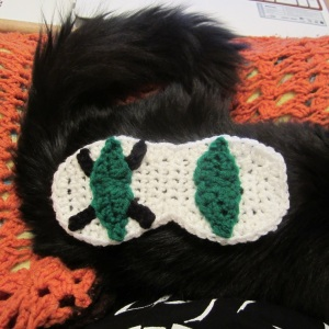 Fun Ghoul Inspired Sleep Mask