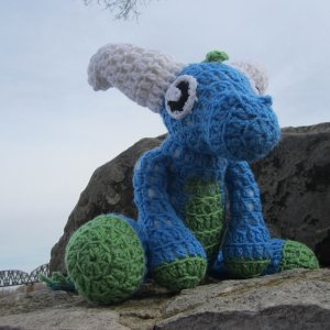 Dragon Doll Free Crochet Pattern