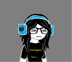 This is me, Starling, listening to some phat beats.