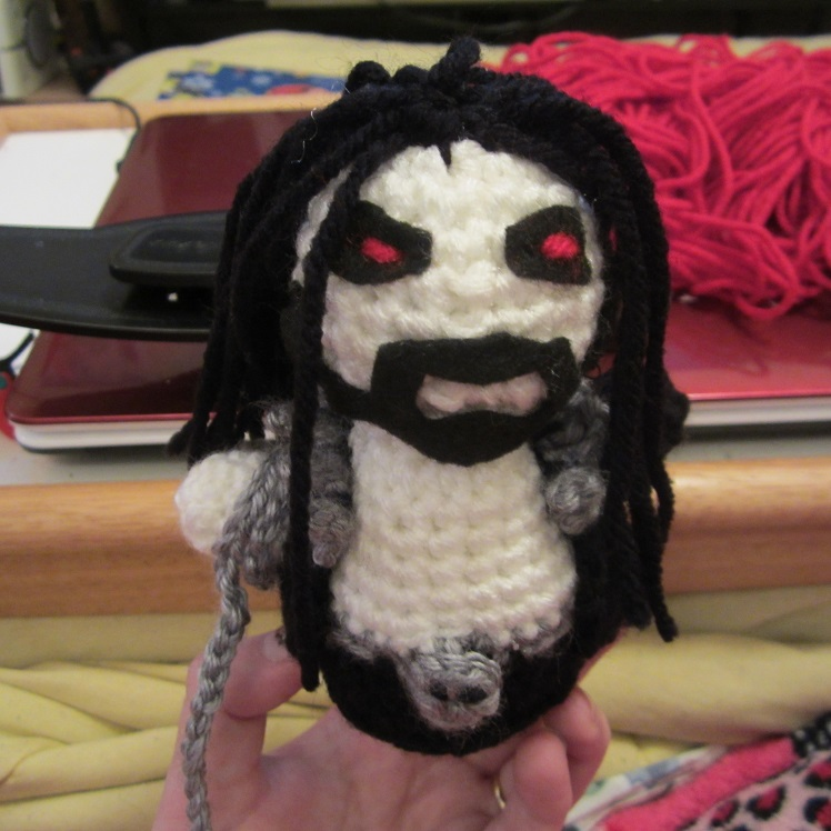 Crochet Lobo from Injustice: Gods Among Us   craftyghoul