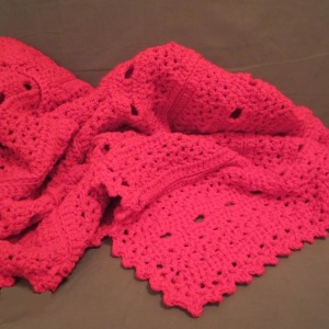 Love and War Chunky Throw free crochet pattern