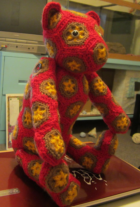 Starlings Hexagon Bear Crochet Pattern Craftyghoul