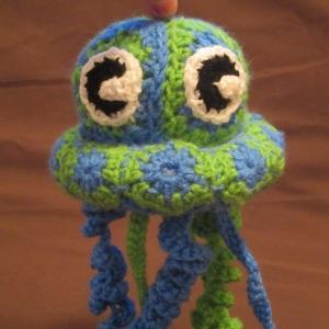 Granny Jellyfish free crochet pattern