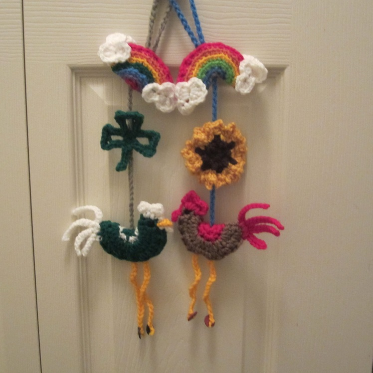 Lucky Rooster Charm Craftyghoul