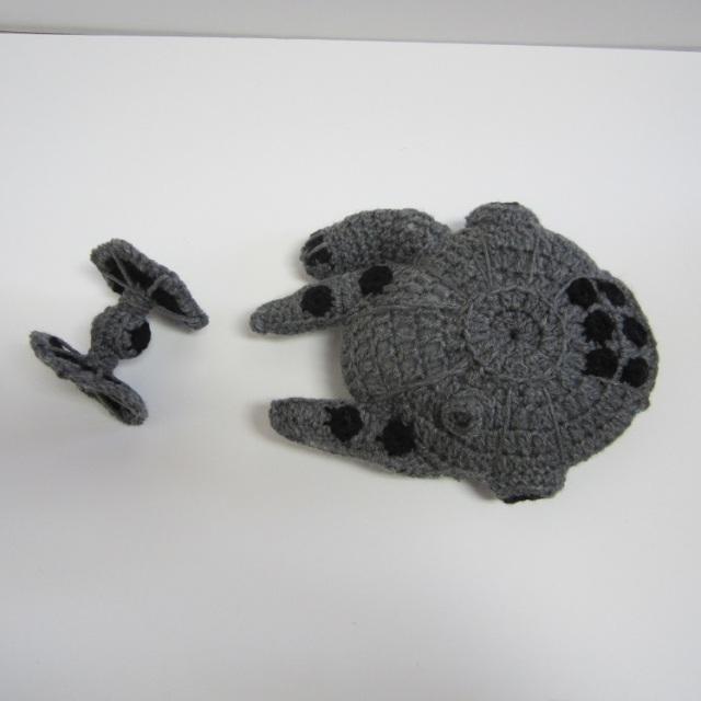 Free Star Wars Crochet Patterns Millennium Falcon